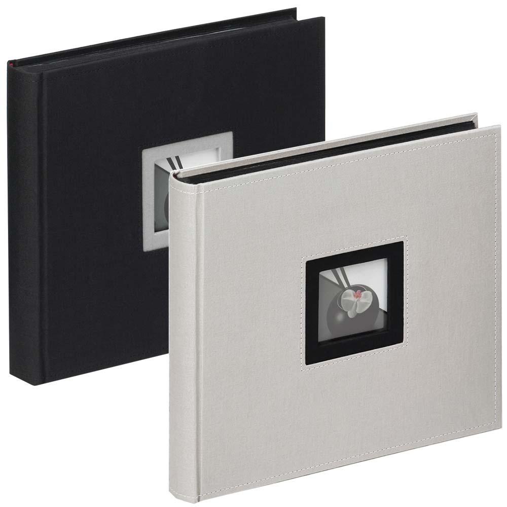 """Álbum libro """"Black & White"""" para pegar, 26x25 cm"""