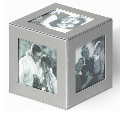 Dado para foto en aluminio