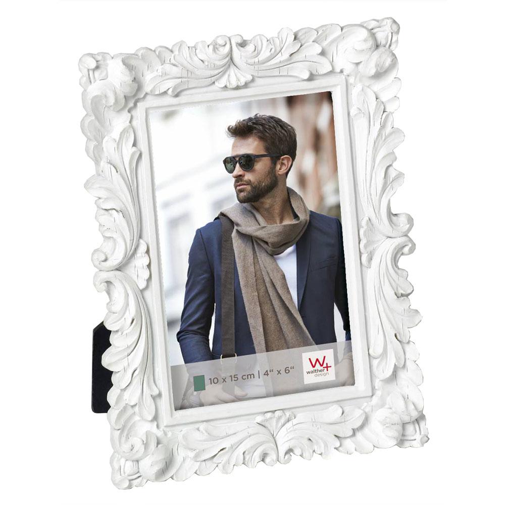 """Marco para retrato """"Saint Germain"""", blanco"""